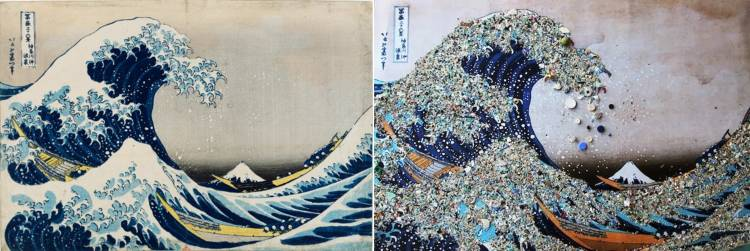 can art make us care how plastic pollution fuels the imagination